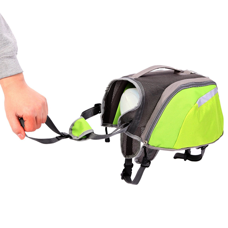 CutePaw Adjustable Dog Pack Backpack Saddlebag Harness Carrier Hound Daypack by CutePaw (Image #2)
