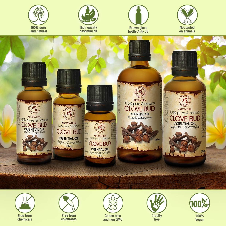 Aceite de Clavo 50ml - Eugenia Caryophyllus - Indonesia - 100 ...