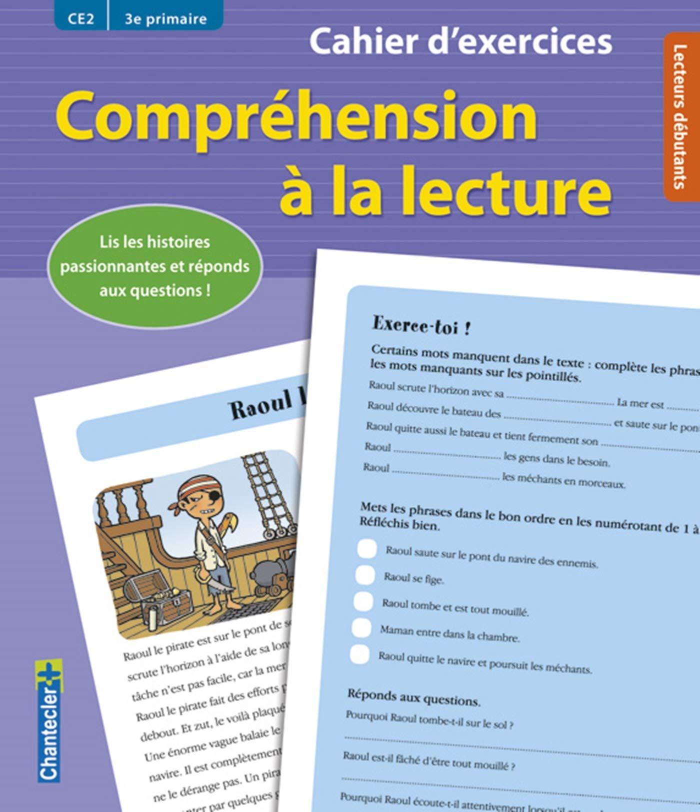 Comprehension A La Lecture Ce2 Cahier D Exercices Amazon Fr Vermeulen Moniek Heylen Jan Dulon Isabelle Livres