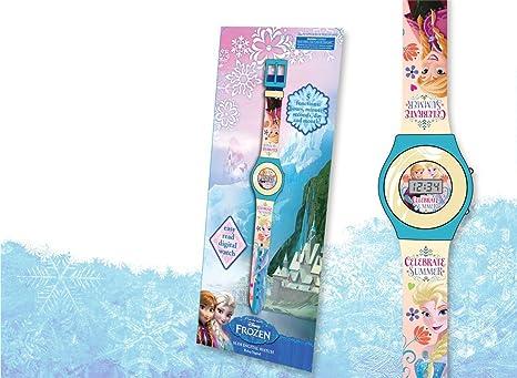 Reloj digital Frozen Disney pequeño
