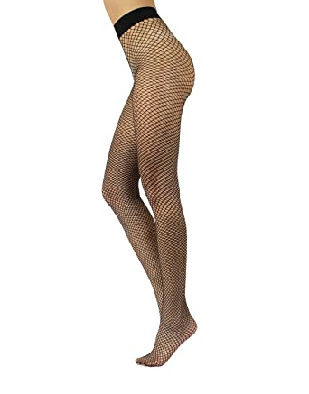 ca53121b436751 FISHNET PANTYHOSE LOW WAIST WITH COMFORT WAISTBAND | FASHION HOSIERY | MADE  IN ITALY at Amazon Women's Clothing store: