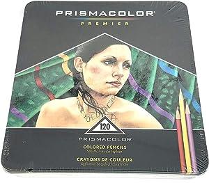 Prismacolor Thick Lead Art Pencils, 120 Color Set (3602TN)