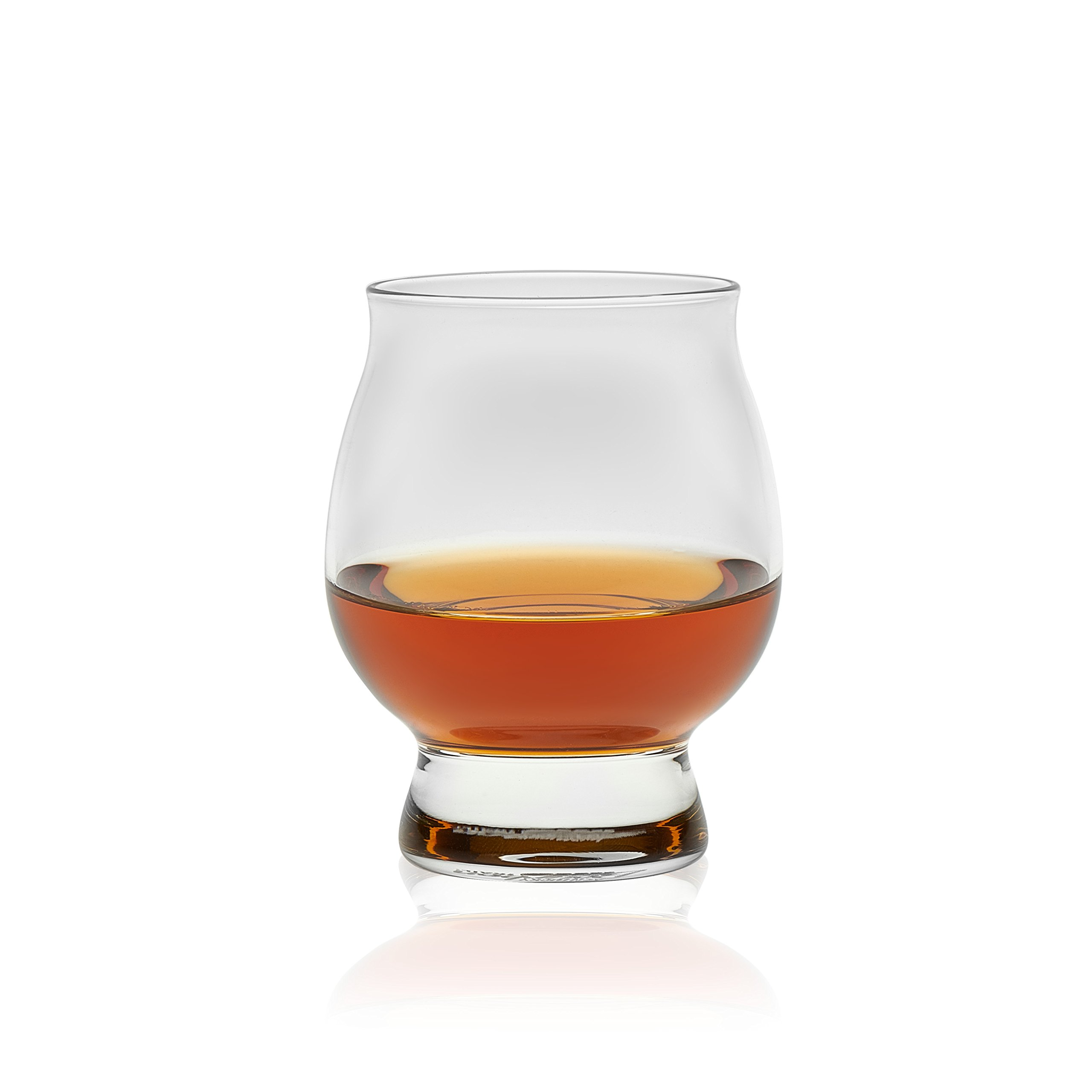 Libbey Signature Kentucky Bourbon Trail, Official Whiskey Tasting Glass Set, 8-ounce, Made in USA (Set of 4)
