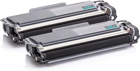 GPC Image TN2320 TN-2320 Cartucce Toner Compatibili per TN-2310 per Brother MFC-L2700DW MFC-L2720DW MFC-L2740DW DCP-L2500D DCP-L2520DW DCP-L2540DN HL-L2300D HL-L2340DW HL-L2360DN HL-L2365DW 2 Nero