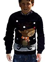 Candy Christmas Jumper, Rua Reindeer, Children's, Novelty Boys and Girls