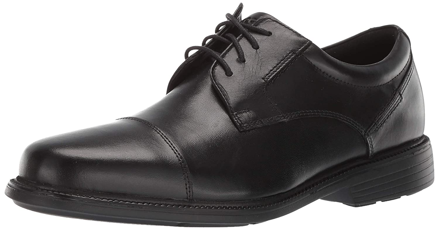 Black Ec Rockport Men's Charlesroad Captoe Oxford