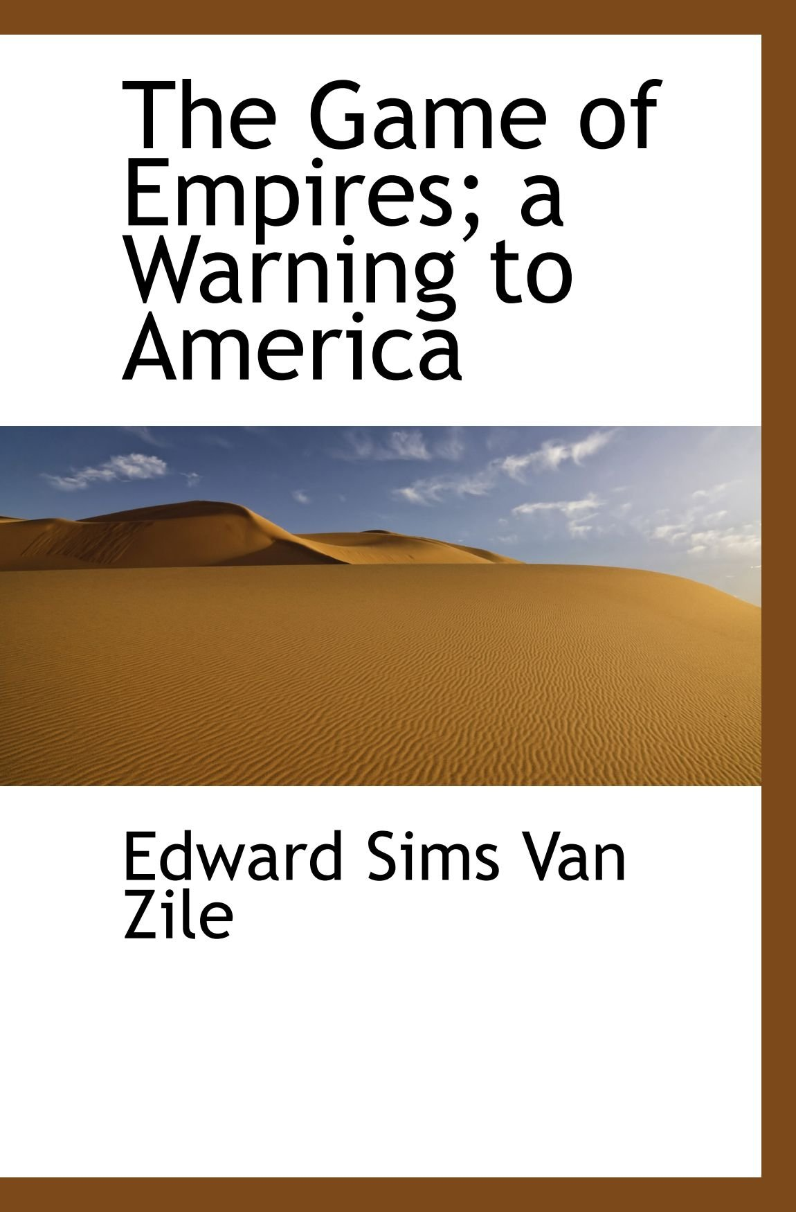 Download The Game of Empires; a Warning to America PDF