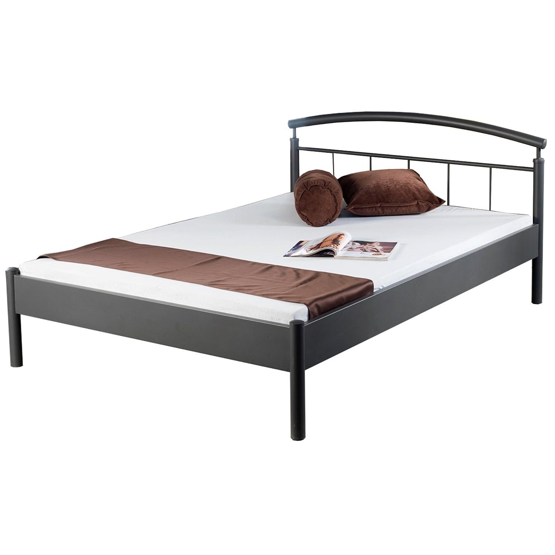 Bed Box Metall Bettrahmen Bettgestell Nina 1007 Größe 90x200 cm