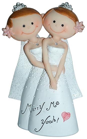 Preis Am Stiel 1 X Dekofigur Mrs Mrs Lesbisches Brautpaar