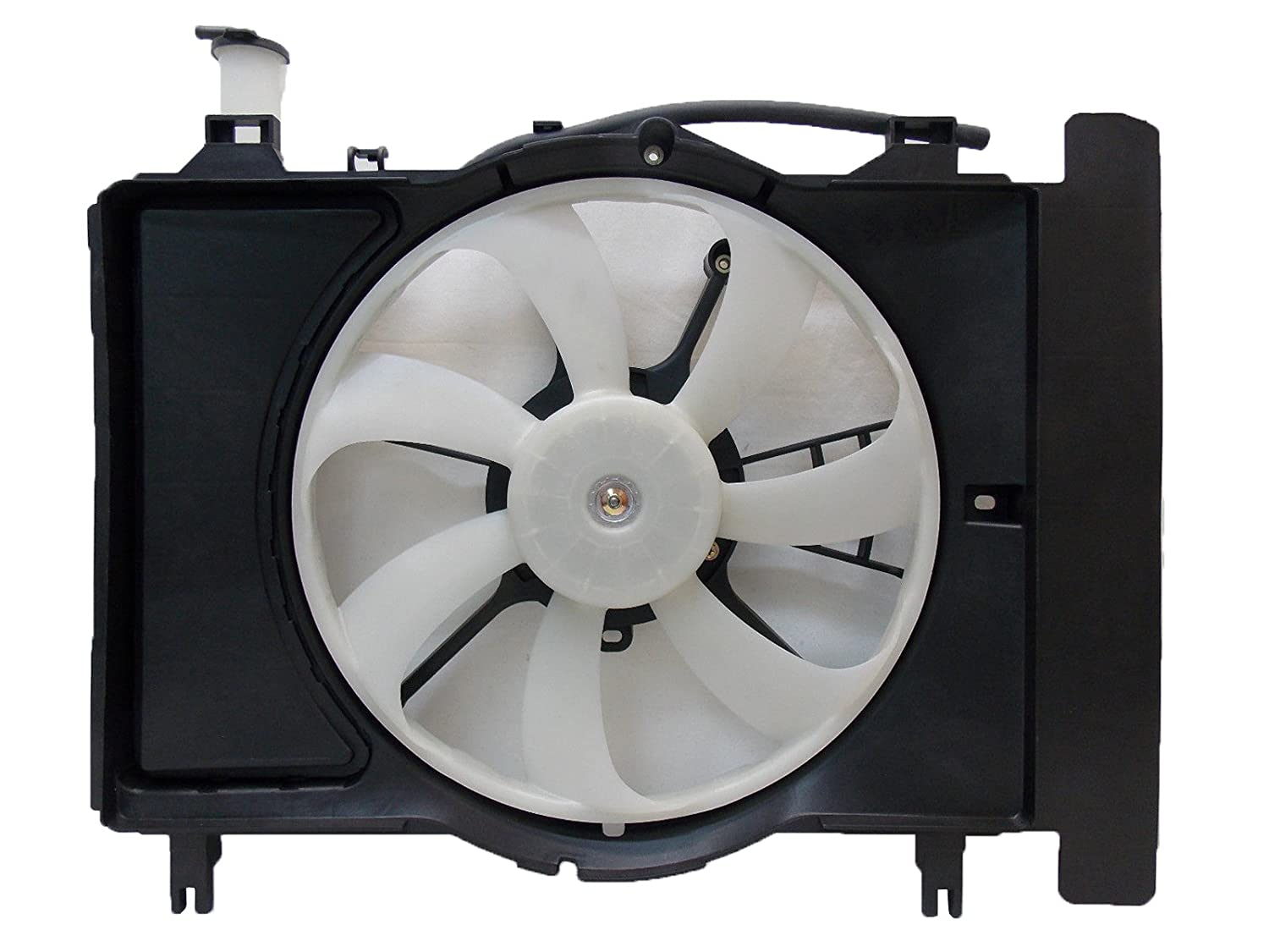 Sunbelt Radiator And Condenser Fan For Toyota Yaris Scion xD TO3115145 Drop in Fitment