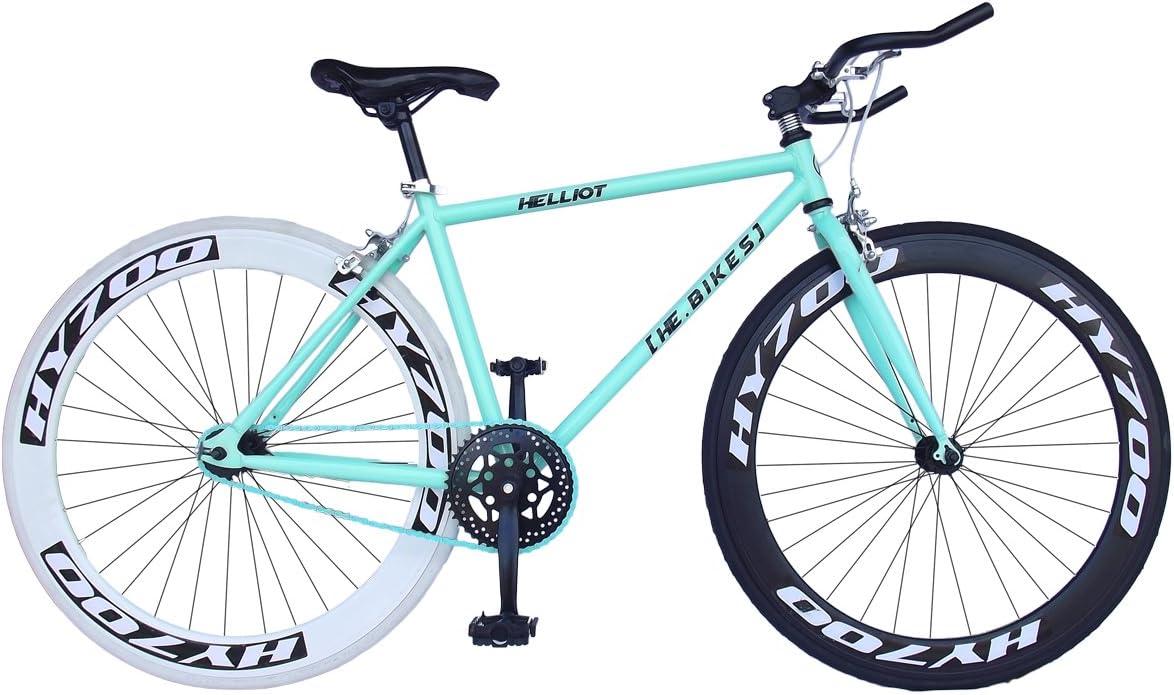 Helliot Bikes Fixie Brooklyn H41 Bicicleta Urbana, Unisex Adulto ...