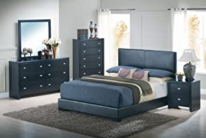 Yuan Tai Kaspa 5-Piece Bedroom Furniture Set, King