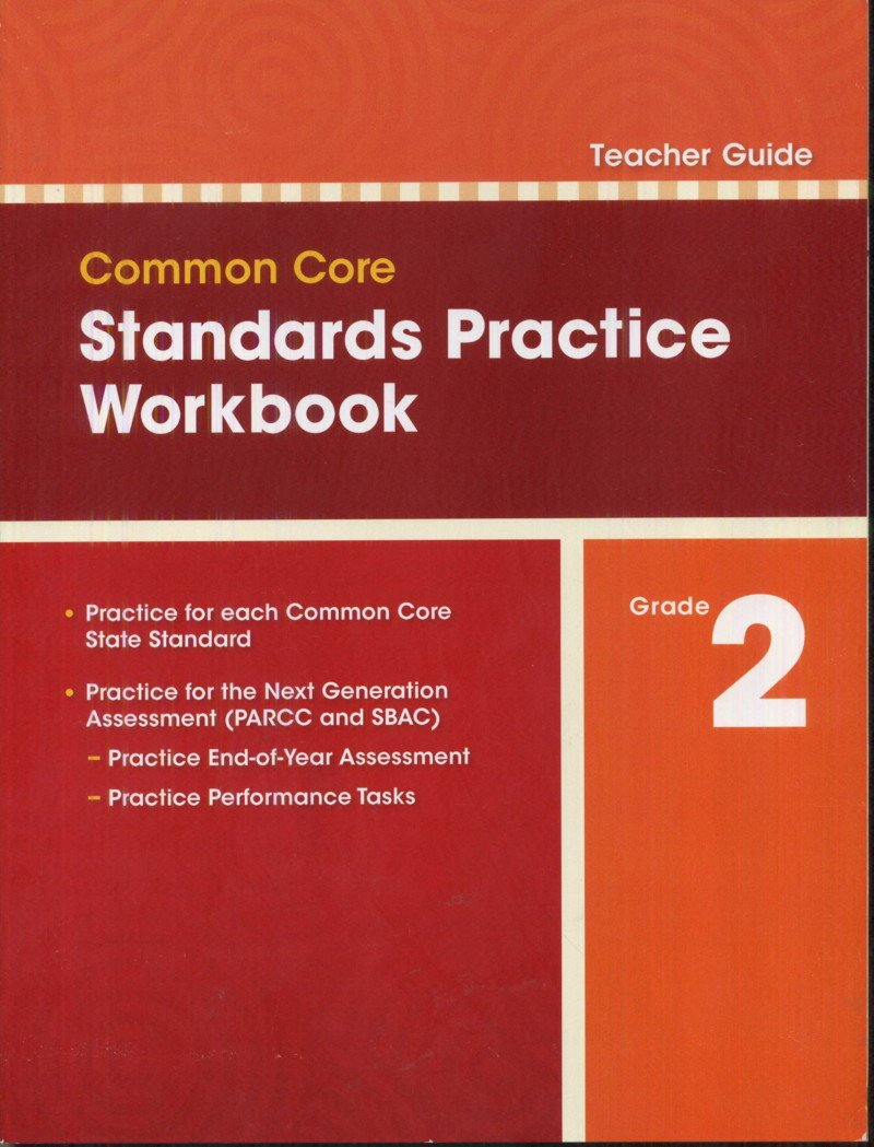 Common Core Standards Practice Workbook Grade 2 (Teacher Guide ...