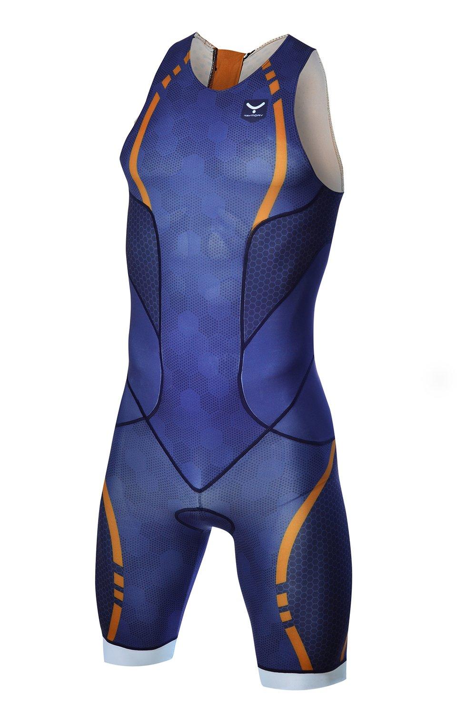 TAYMORY Triathlon-Einteiler für Herren Swim Run T150