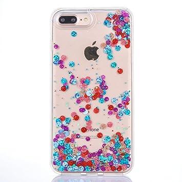 e95b8466fb Amazon.co.jp: iPhone 7 Plus ケース iPhone 8 plus ケース 多彩な流砂 ...
