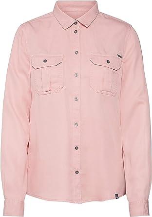 Superdry Camisa Xenia Rosa Mujer XS Rosa: Amazon.es: Ropa y accesorios