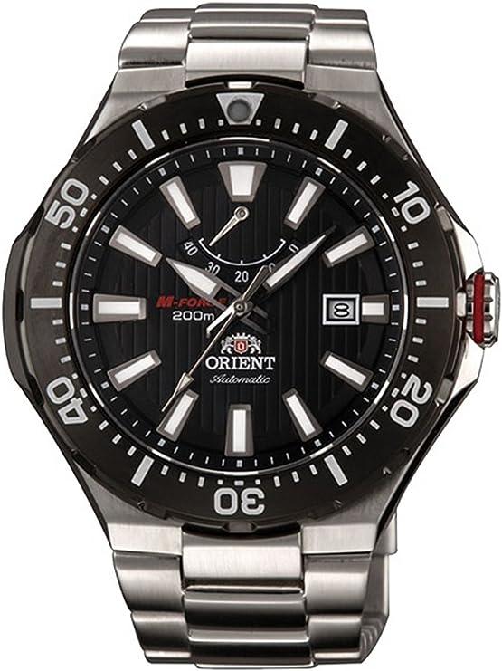 オリエント エムフォース 自動巻き メンズ 腕時計 SEL07002B0 (WV0151EL) ブラック [並行輸入品]