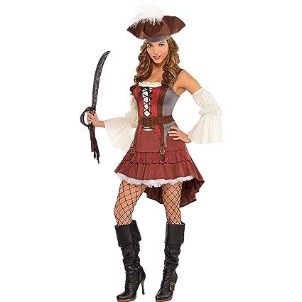 Amscan Internacional Castaway traje de pirata (UK 14-16)