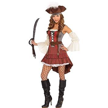 Disfraz de Pirata elegante para mujeres en varias tallas: Amazon ...