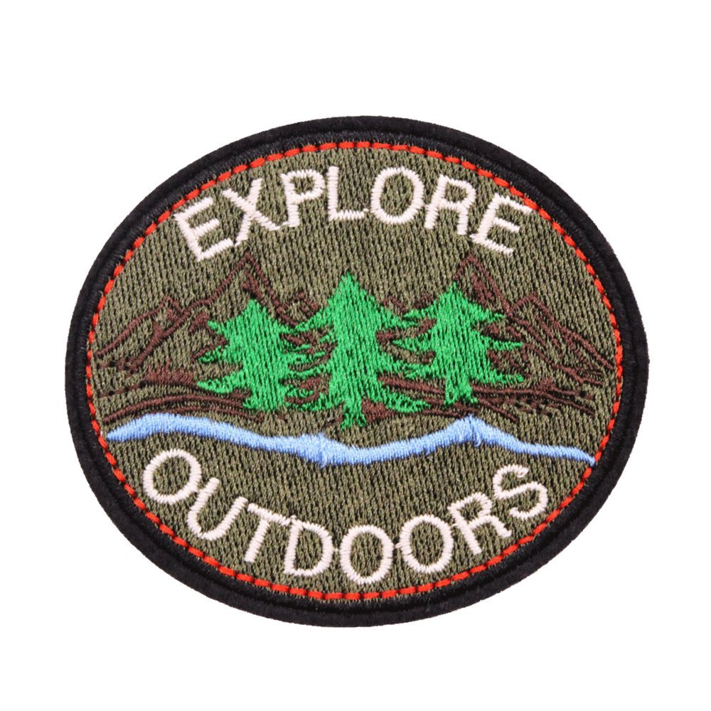 U-Sky Sew or Iron on Patches - Explore Outdoors Jerrmy