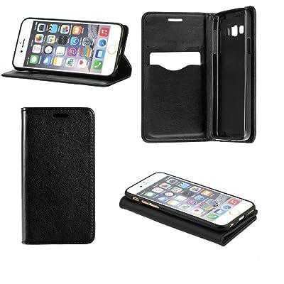 Unbekannt Book Case Smart Magnet lisse Noir pour Huawei Mate 9Pro (Vorsicht. Ne convient pas pour Huawei Mate 9) cover Handy Sac FlipCase Étui livre en plastique TPU Support pour cartes de crédit