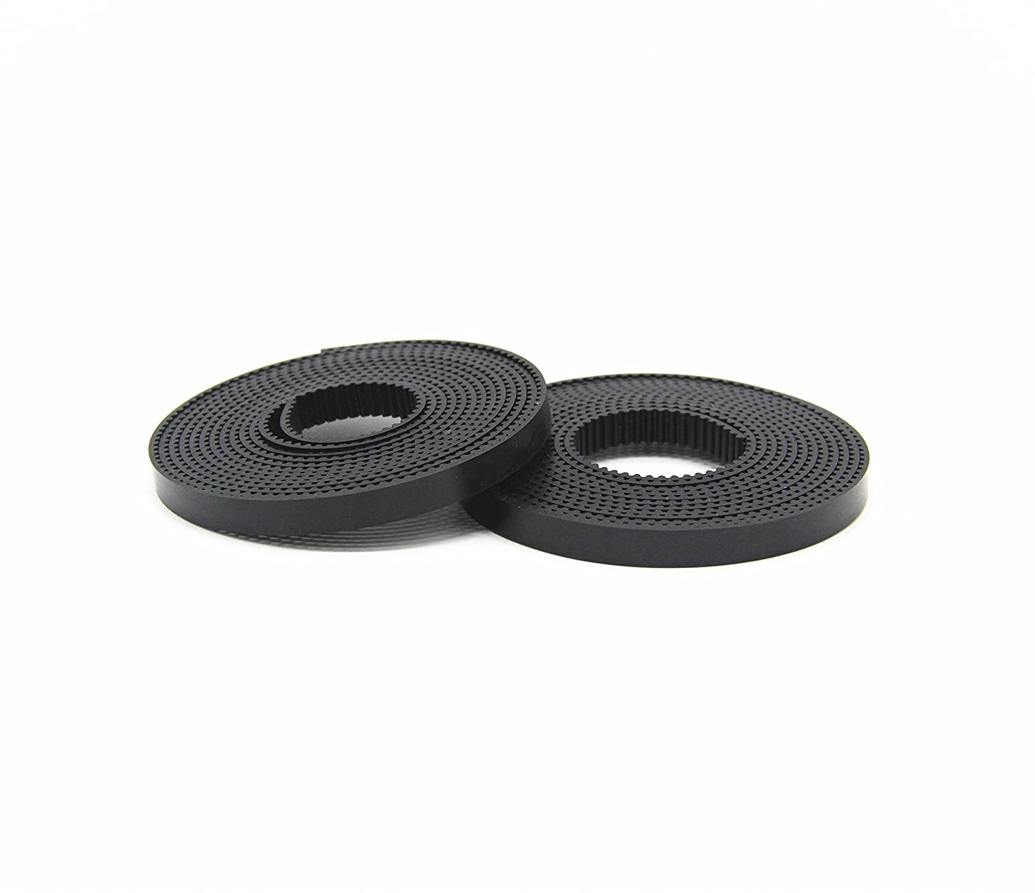 MagicD 2Pcs 1.7M GT2 Timing Belt for Reprap 3D Printer, 6mm Wide 2mm Pitch GT2 Belt, Compatible with GT2 Pulley.