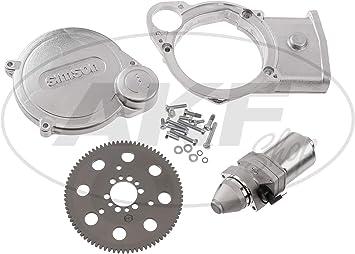 S83 Anlasser f/ür PVL+ EMZA-Z/ündungen Simson S51 S53 S70 MZA Set: Elektrostarter