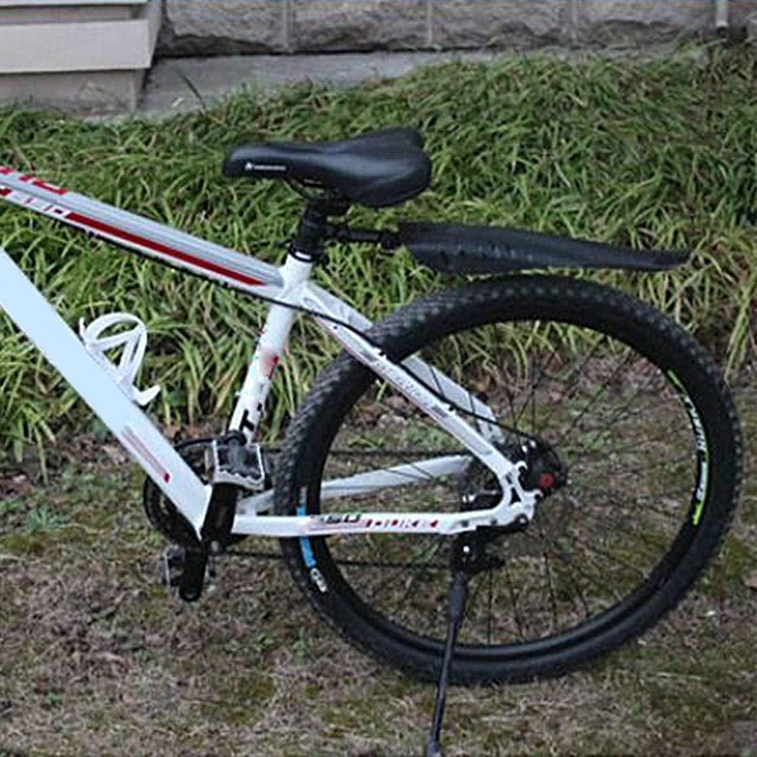 joyliveCY Bicicleta Guardabarros Universal Pl/ástico Alas de Bicicleta de monta/ña Conjunto de Guardabarros Delantero//Trasero Guardabarros extra/íbles Flaps Accesorios para Bicicletas 1 Juego