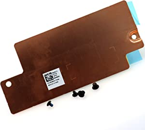 Deal4GO 2280 NVMe M.2 Two Slot SSD Heatsink Tray Hard Drive Bracket Cover Holder Caddy for Dell Alienware M15 M17 0R46DX R46DX