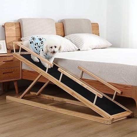 Amazon.com: MDBT Rampas de cama para perros pequeños, rampa ...