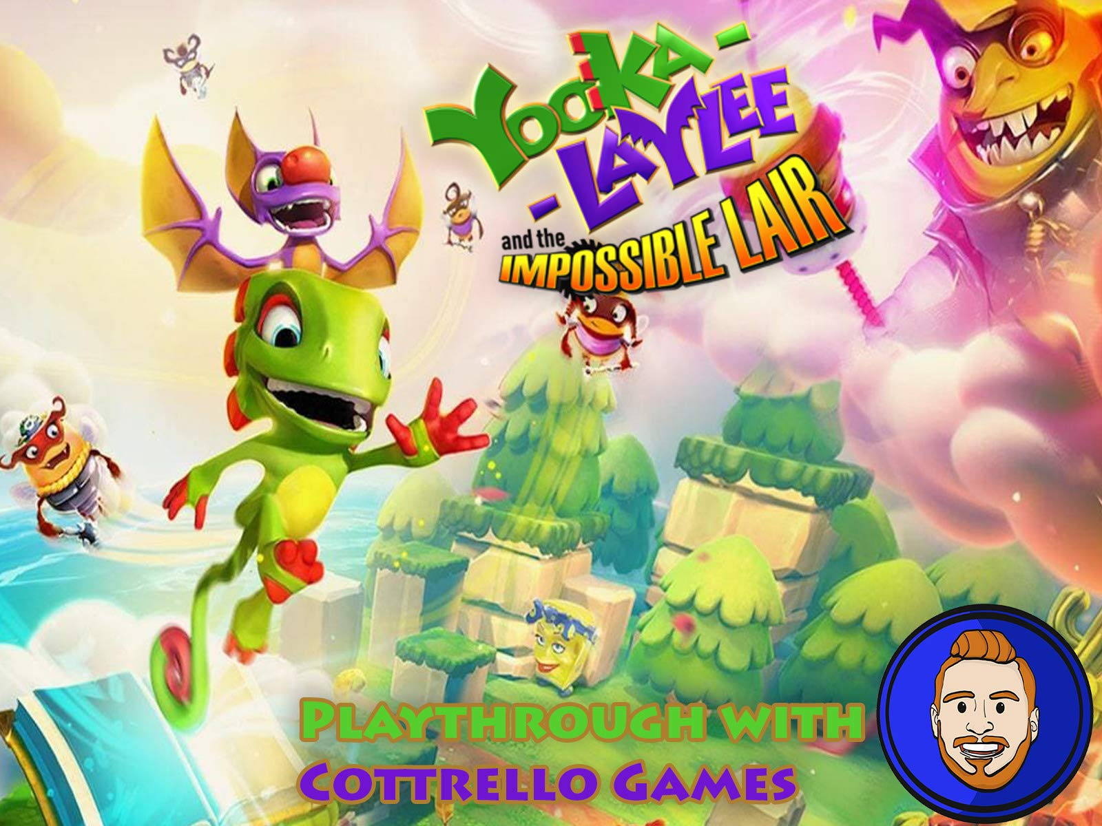 Yooka-Laylee and the Impossible Lair Playthrough with Cottrello Games
