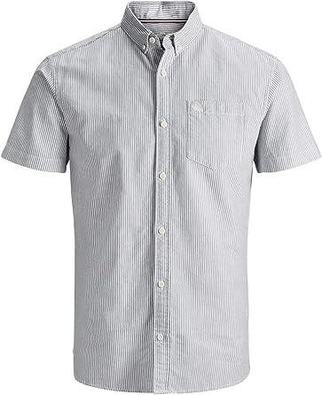 Jack&Jones Camisa Hombre Azul Claro 12152806 PKTDEK Oxford ...
