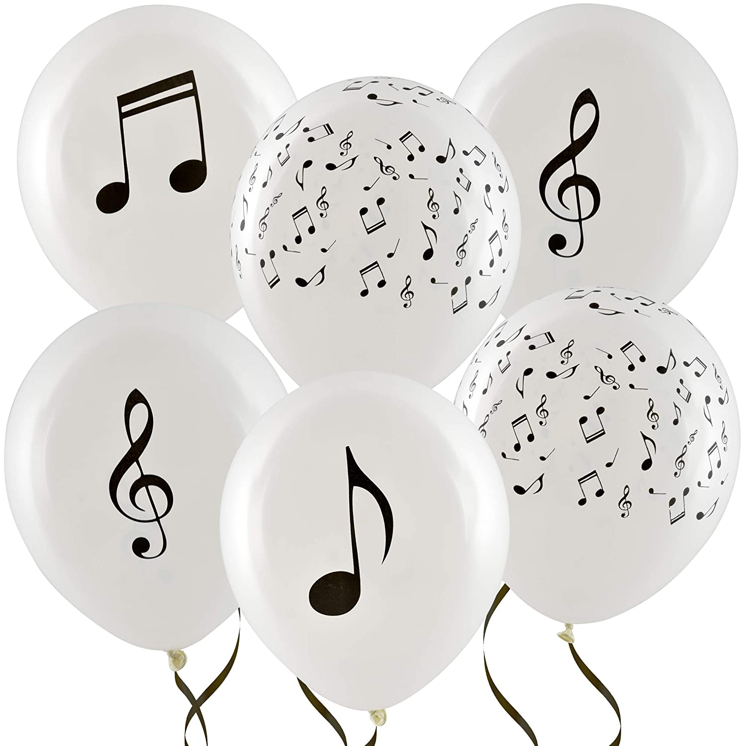 36 Musical Notes Balloons 12