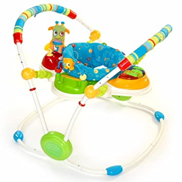 7e12fd5f6495 Amazon.com   Bright Starts Cute Critters Activity Jumper ...