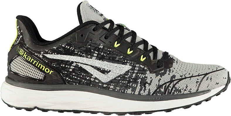 Karrimor Rapid Support Hombre Zapatillas Deportivas Correr Negro/Gris EUR 42 2/3: Amazon.es: Zapatos y complementos