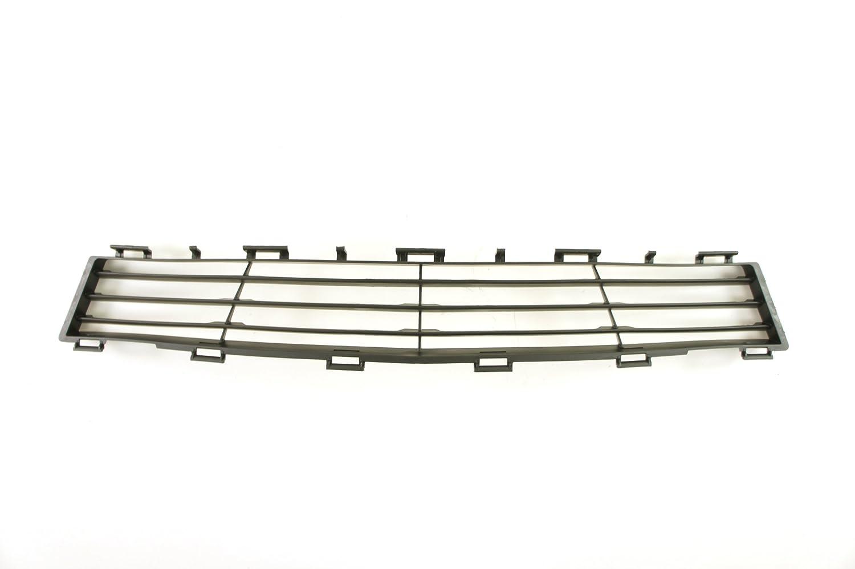 CarPartsDepot Front Passenger Side Chrome Outer Frame Grille Black Inner Insert RH 400-121001-02 BM1200127 51137030546