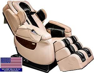 Luraco iRobotics 7 PLUS Medical Massage Chair (Cream)