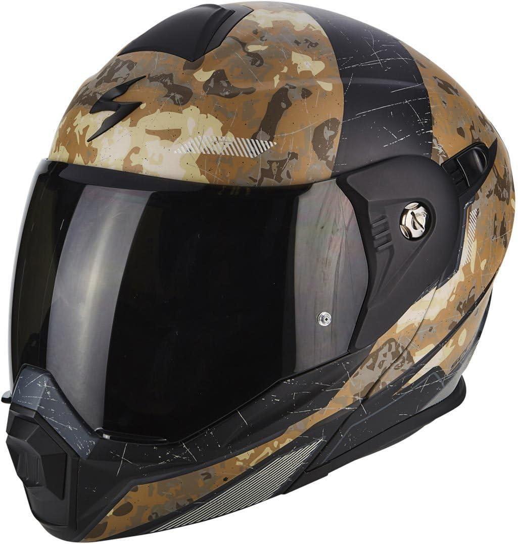 Gr/ö/ße XXL Scorpion Helm Motorrad adx-1/battleflage Sand Mehrfarbig