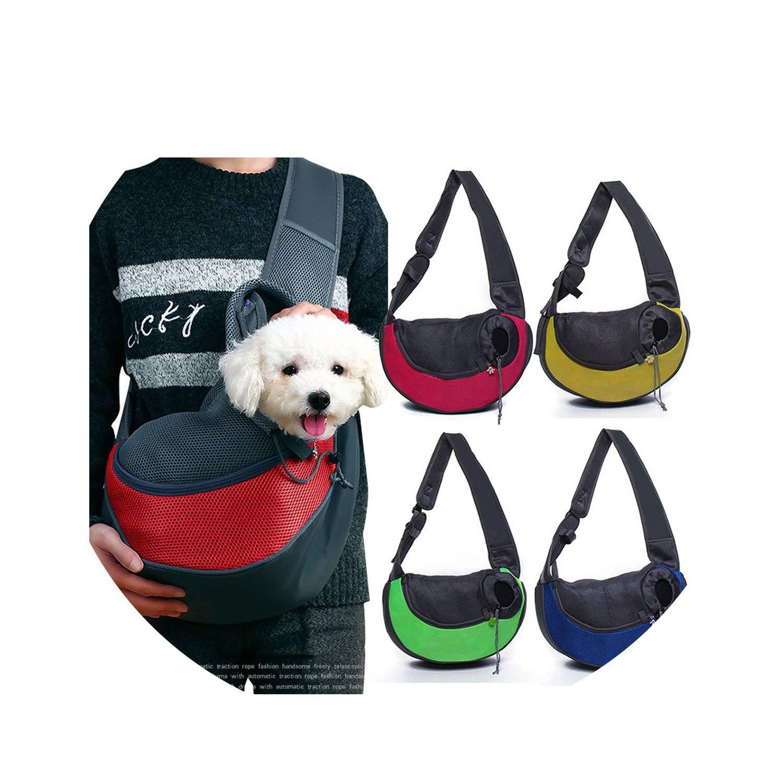 Pet Dog Cat Puppy Carrier Bags Mesh Travel Tote Shoulder Bag Sling Backpack S//L
