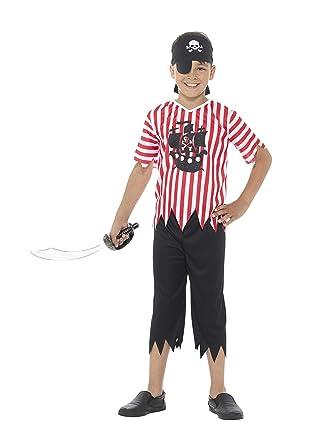 Amazon.com: 4 – 6 años niños Jolly disfraz de pirata: Clothing
