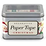 Cavallini Vintage Christmas Decorative, 5 Assorted rolls