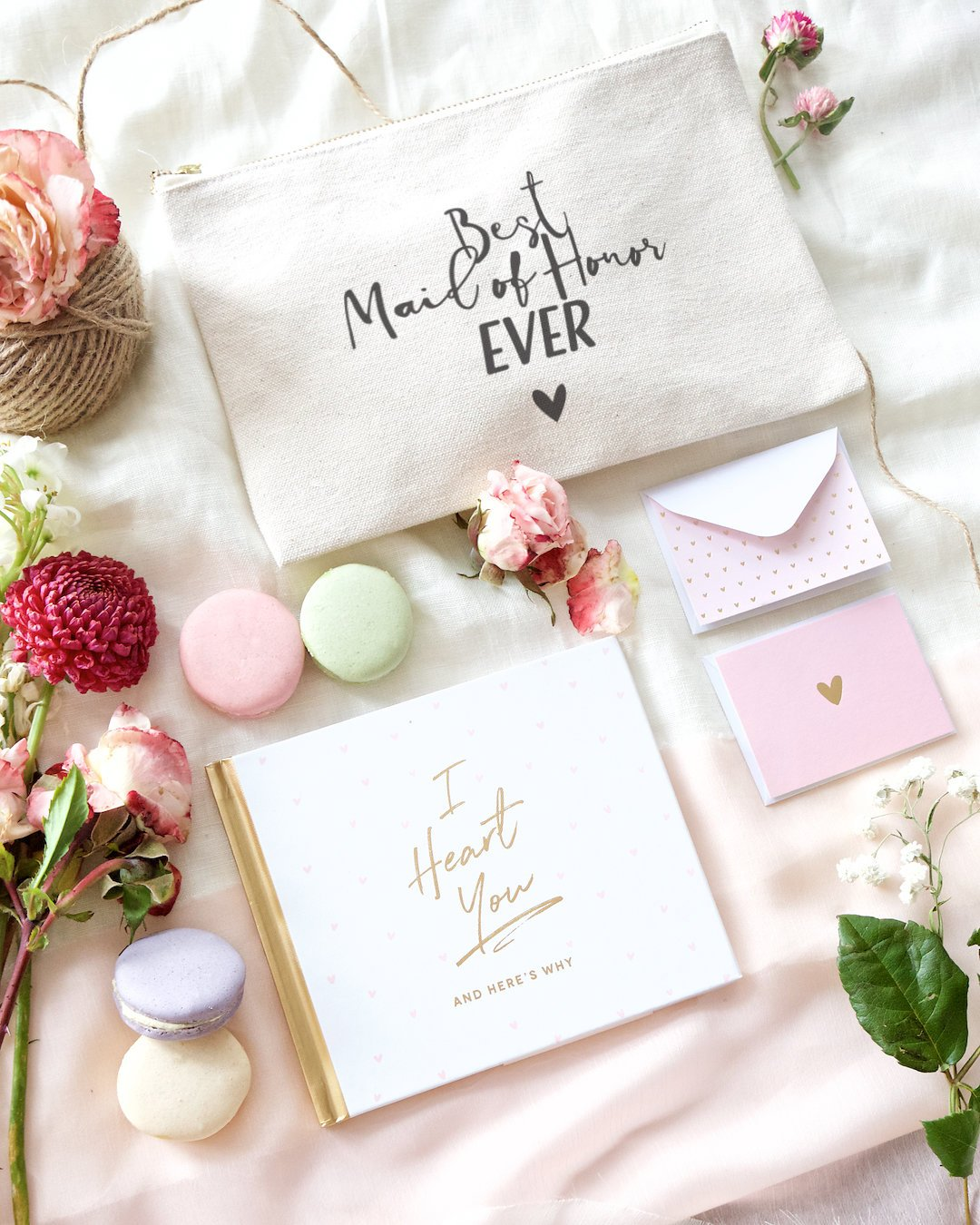 Amazon.com : The Cotton & Canvas Co. Best Maid of Honor Ever Wedding ...