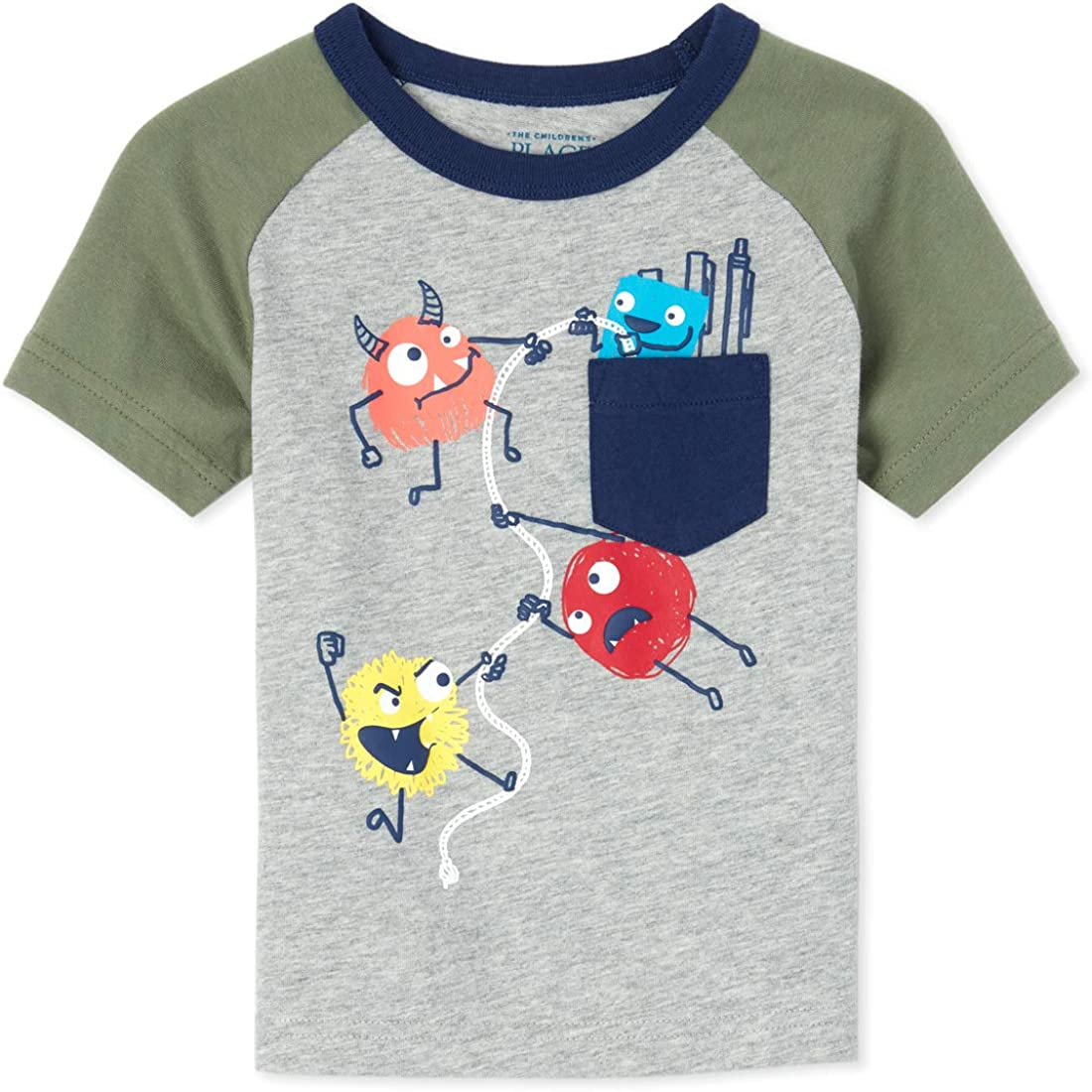 The Childrens Place Baby Boys Short Sleeve Graphic T-Shirt