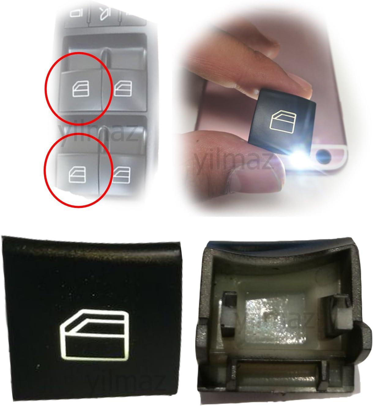 1/x bouton pour Classe A//B W169/W245/Interrupteur l/ève-vitre avant gauche
