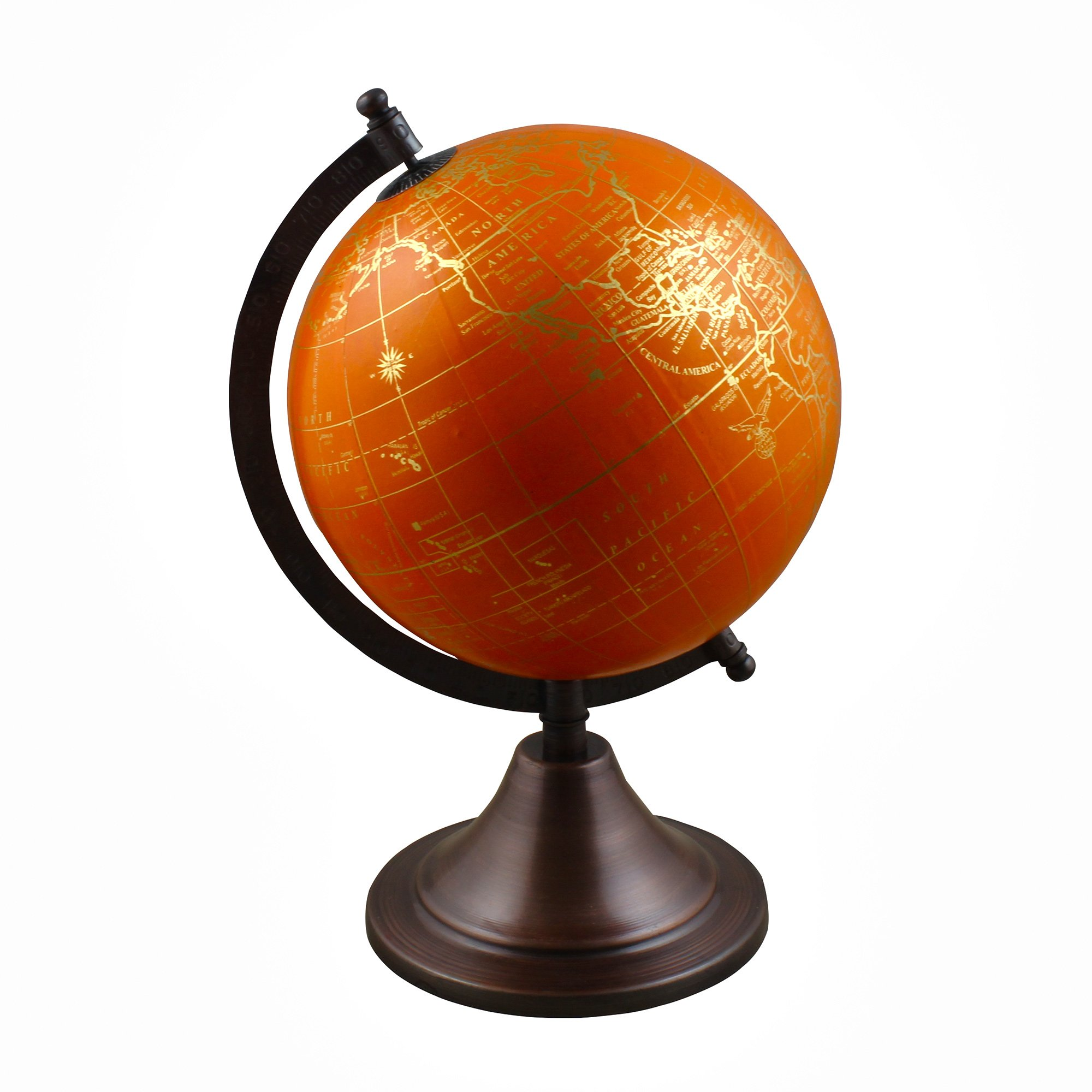 Stock Clearance Sale!! Spinning World Globe with Stand Learning Resources for Teachers, Table Décor, Office & School, 10.5 Inches
