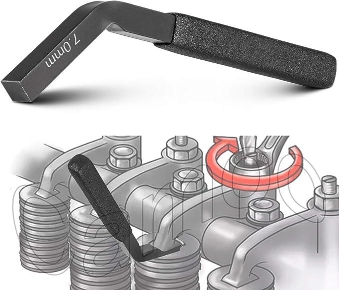 E-cowlboy for Cummins ISX Engine Brake Adjustment Tool 7 MM 3163530 Jake Brake Feeler Gauge