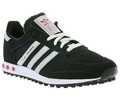 adidas Originals Chaussures LA Trainer Black/Silver Jr