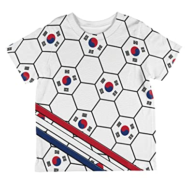 743fdbc364f Amazon.com  World Cup South Korea Soccer Ball All Over Toddler T ...