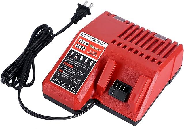 Amazon.com: Cargador de batería de iones de litio de ...