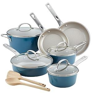 Ayesha Curry 12pc Aluminum Cookware Set
